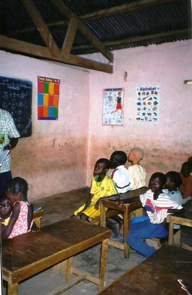 W gambijskiej szkole