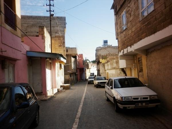 Urfa, stara część miasta na wzgórzu