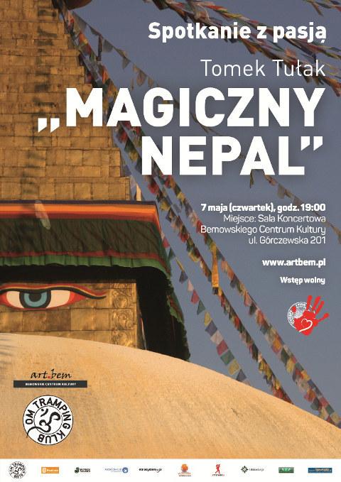 """Spotkanie z pasją: Tomek Tułak """"Magiczny Nepal"""""""