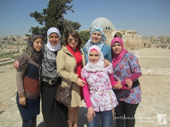 Marysia w Ammanie, Jordania