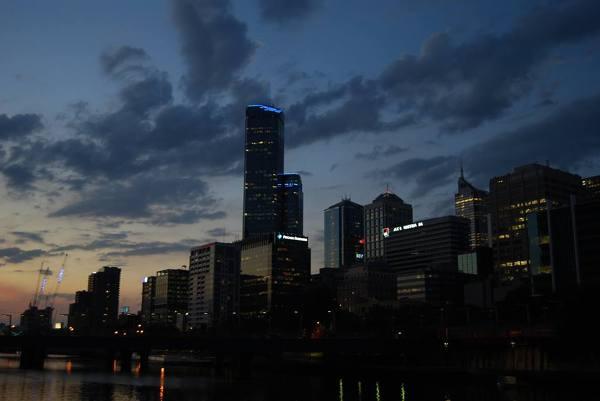 Widok na Melbourne