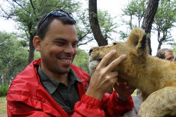 Spotkanie z lwem