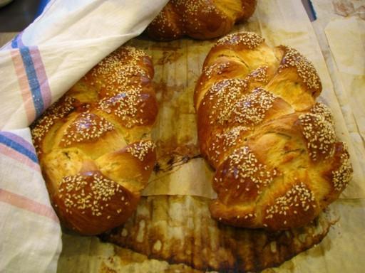 Chleb szabatowy, czyli nasza dobrze znana chałka.