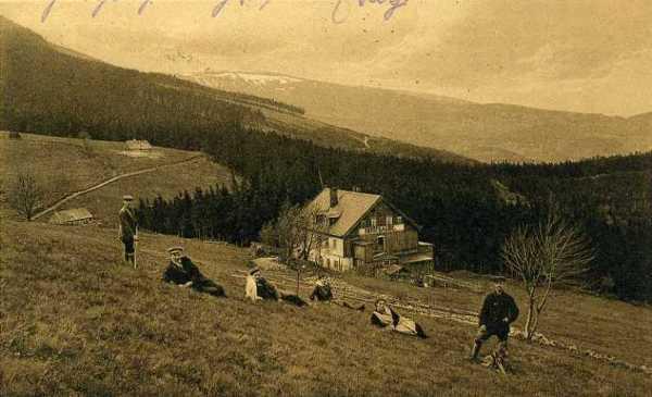 Budniki, widok na Karpacz