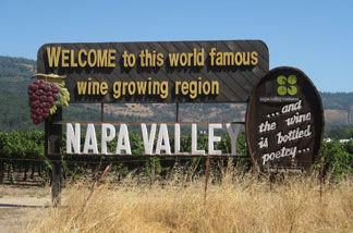 Witamy w hrabstwie Napa