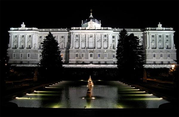 Jardines de Sabatini, Madryt