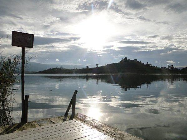 Lake Bunyoni i Rwanda