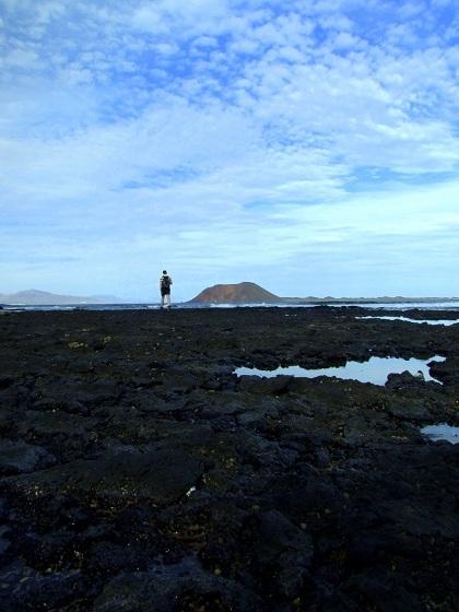 Wulkaniczna plaża w Corralejo, Fuerteventura