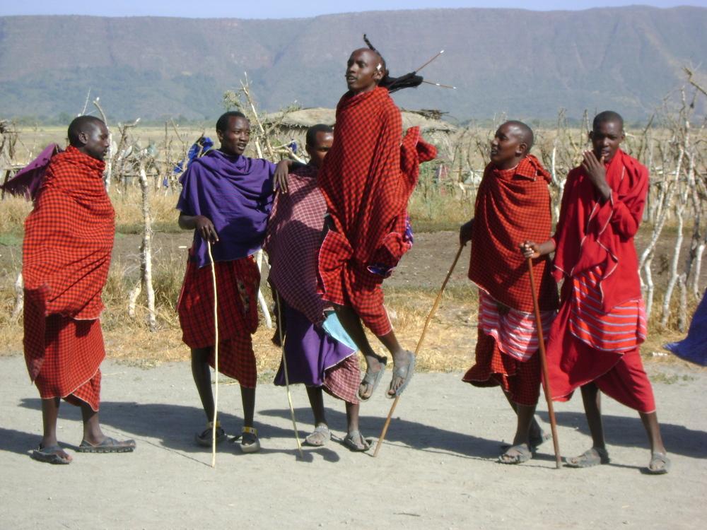 Spotkanie z bogiem Masajów
