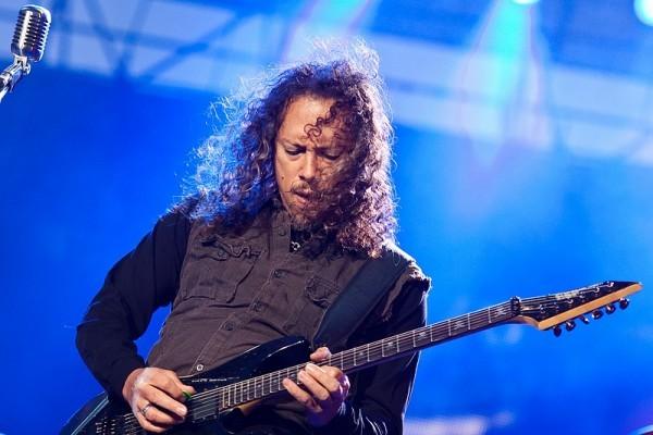 Kirk Hammett, Metalilica podczas Sonisphere Festival - Warszawa, 16 czerwca 2010 r.