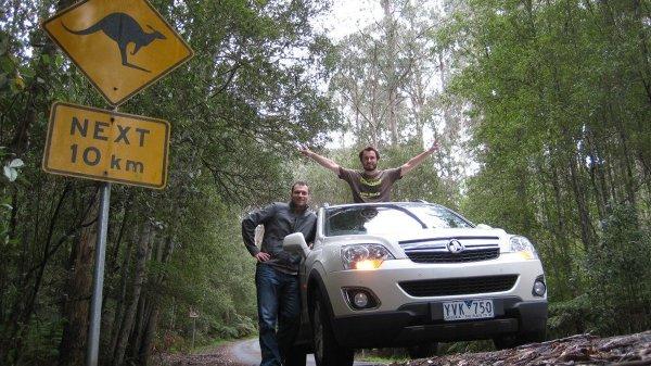 Great Ocean Road zdobywaliśmy razem z Mariuszem
