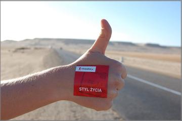 Autostopem przez Saharę Zachodnią
