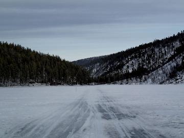Park Narodowy Lemmenjoki, Laponia, Finlandia