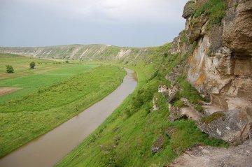 Orhei Vechi - przełom rzeki Răut