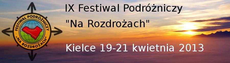 """Festiwal Podróżniczy """"Na Rozdrożach"""""""