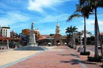 Brama Zegarowa, Cartagena
