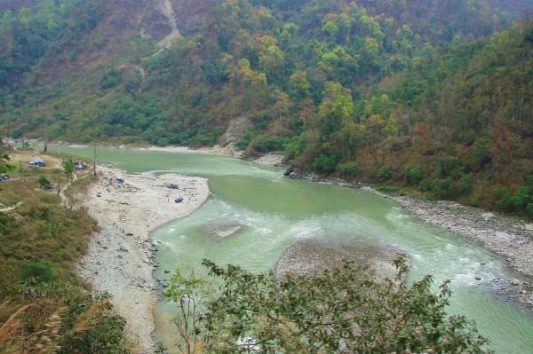 Rzeka Teesta