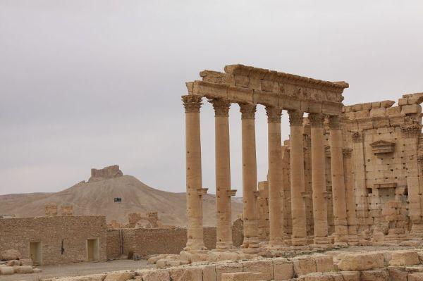 Palmyra. Jeden z najważniejszych i największych na świecie kompleksów wykopalisk (pow. ok. 50 ha)