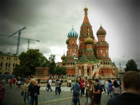 Wizyta w Rosji - Plac Czerwony