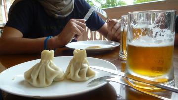Tradycyjna potrawa - Chinkali.