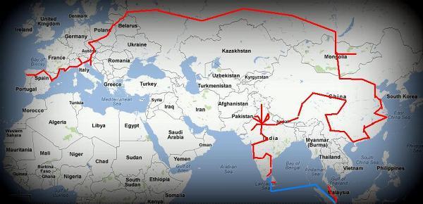 rzut oka na mapę