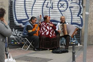 Cyganie - ciągle są ważna częścią kultury w Andaluzji