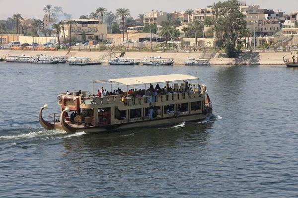 Jednostka pływająca po Nilu na krótszych dystansach