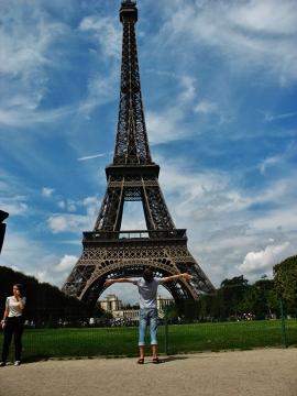 Wieża Eiffela-Symbol Francji