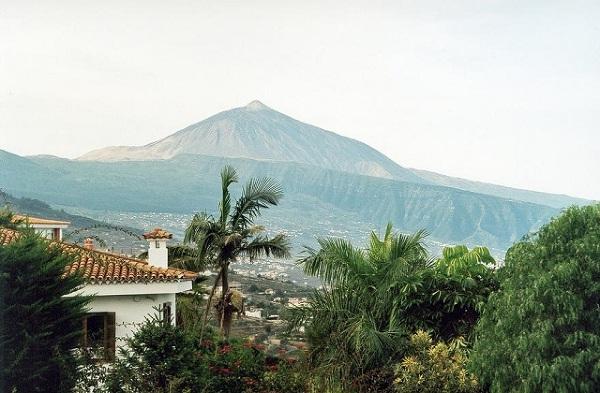 Widok na Pico de Teide, Teneryfa