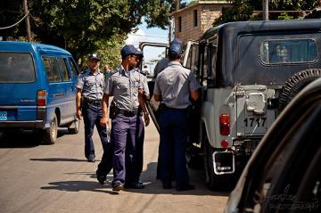 Kubańska policja w Starej Hawanie jest na każdym kroku