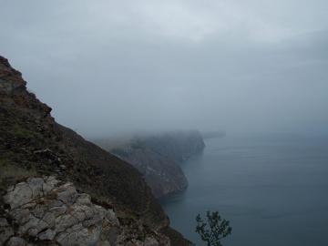 Droga na Hoboj na początku zapowiadała  się mgliście...