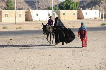 Rodzina beduińska