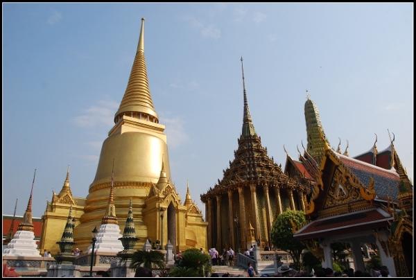 Bangkok - Wielki Pałac.