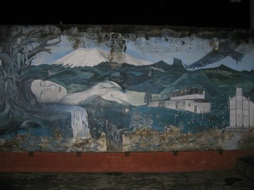 Mural z Pachamamą - Matką Ziemią, Coconuco