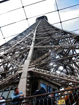Wieża Eiffla-potęga sama w sobie