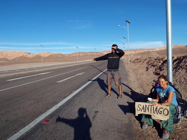 Hasta Santiago por favor!