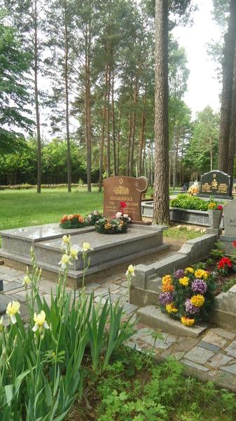 Cmentarz tatarski w Kruszynianach