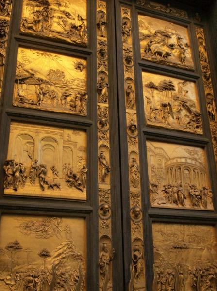 Spiżowe drzwi w katedrze Santa Maria del Fiore