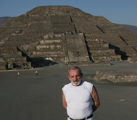 Piramida Słońca w Teotihuacan - Meksyk