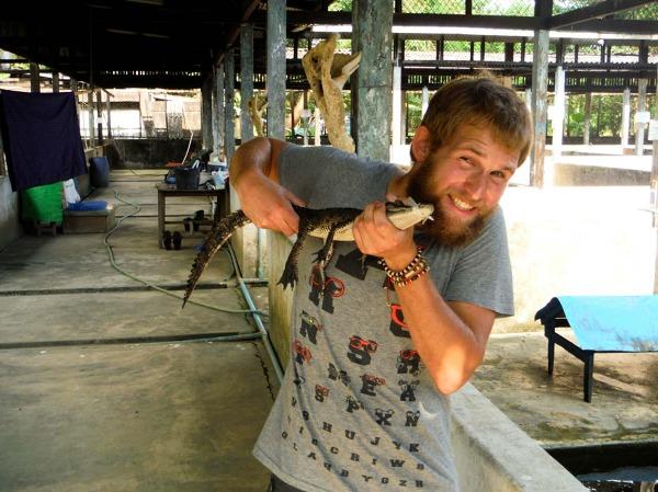 Rangun, centrum rozrodcze krokodyli