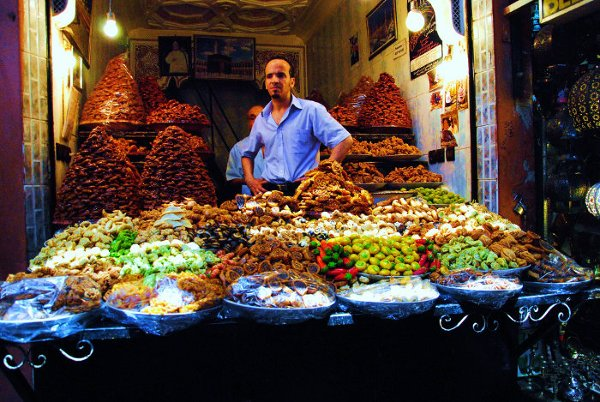 Medyna w Marrakeszu, Maroko