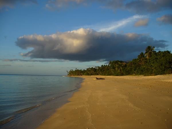 Na wyspie Uoleva ( Ha'apai)