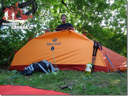 """Jakub Muda, pomysłodawca, zarazem główny i jedyny uczestnik wyprawy """"8000 km Across Canada"""""""