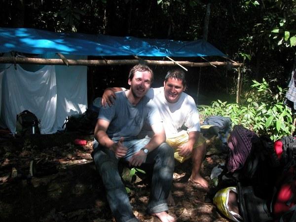 Tomek Zakrzewski z Juanem Carlosem