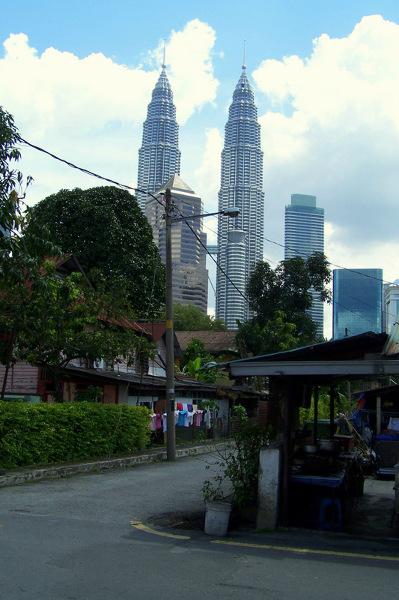Kampung Baru - malajska wioska w centrum Kuala Lumpur