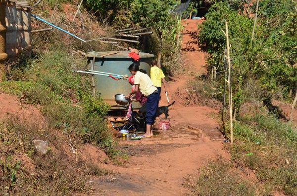 W wiosce Lahu warunki życia są bardzo trudne
