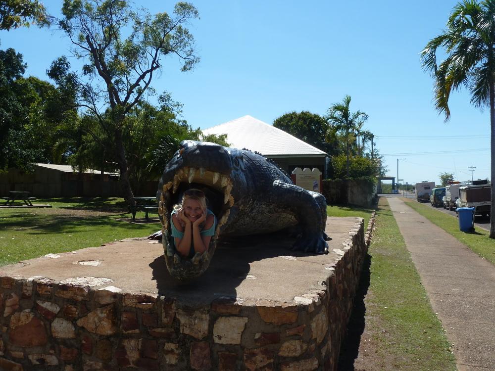 Blondynka na Antypodach wyjeżdża w australijski outback – część 2 – Normanton i pogromczyni krokodyli z Polski