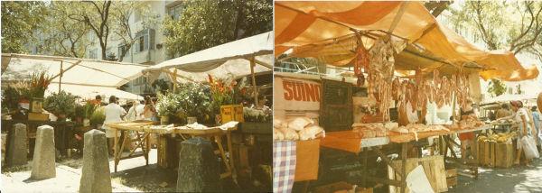 Osiedlowy bazarek w Rio de Janeiro