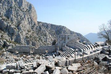 W Turcji ruiny są na każdym kroku. Na zdjęciu - Termessos.