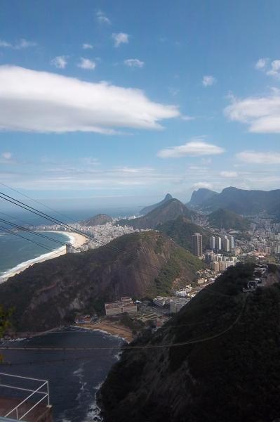 Rio de Janeiro; Widok z Głowy Cukru